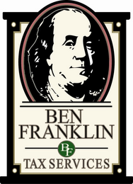 mark for BEN FRANKLIN TAX SERVICES BF, trademark #77353007