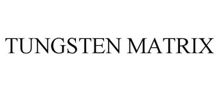 mark for TUNGSTEN MATRIX, trademark #77353373