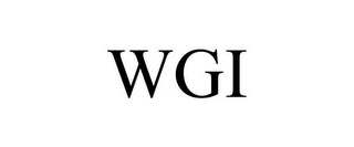 mark for WGI, trademark #77355017
