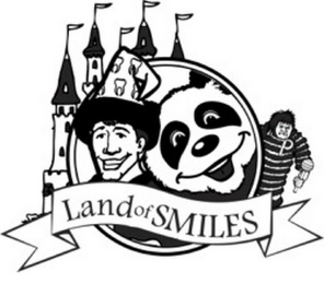 mark for LAND OF SMILES P, trademark #77355216