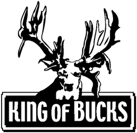 mark for KING OF BUCKS, trademark #77357046