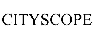 mark for CITYSCOPE, trademark #77357671