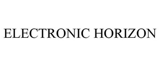 mark for ELECTRONIC HORIZON, trademark #77358108