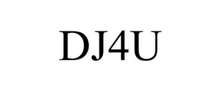 mark for DJ4U, trademark #77358758