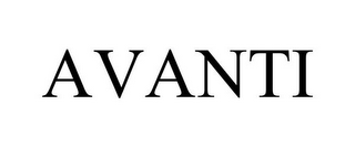 mark for AVANTI, trademark #77360129