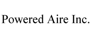 mark for POWERED AIRE INC., trademark #77364222