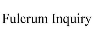 mark for FULCRUM INQUIRY, trademark #77364938