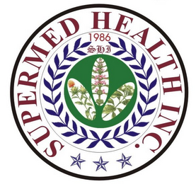 mark for SUPERMED HEALTH INC. 1986 SHI, trademark #77365148