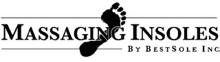 mark for MASSAGING INSOLES BY BESTSOLE INC., trademark #77367471