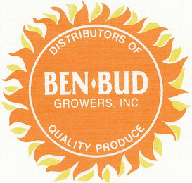 mark for DISTRIBUTORS OF BEN-BUD GROWERS, INC. QUALITY PRODUCE, trademark #77367604