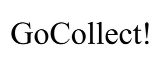 mark for GOCOLLECT!, trademark #77368662