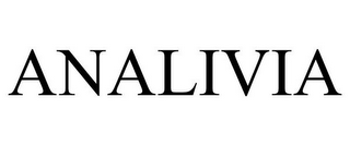 mark for ANALIVIA, trademark #77371072