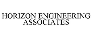 mark for HORIZON ENGINEERING ASSOCIATES, trademark #77372041