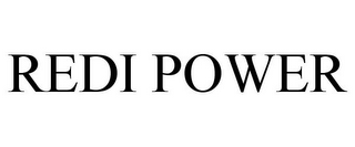 mark for REDI POWER, trademark #77372940