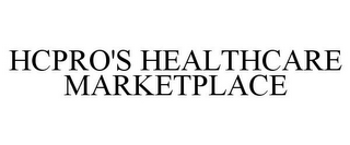 mark for HCPRO'S HEALTHCARE MARKETPLACE, trademark #77373024