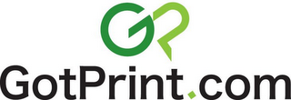 mark for GP GOTPRINT.COM, trademark #77376463