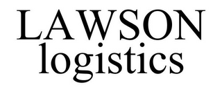 mark for LAWSON LOGISTICS, trademark #77377510
