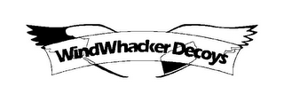 mark for WINDWHACKER DECOYS, trademark #77378283