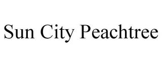 mark for SUN CITY PEACHTREE, trademark #77380352