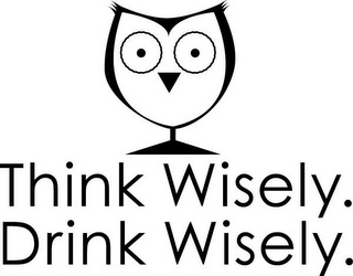 mark for THINK WISELY. DRINK WISELY., trademark #77380457