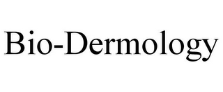 mark for BIO-DERMOLOGY, trademark #77382994