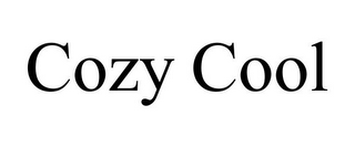 mark for COZY COOL, trademark #77383305