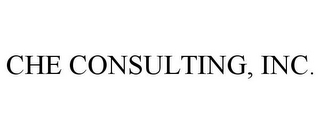mark for CHE CONSULTING, INC., trademark #77383486