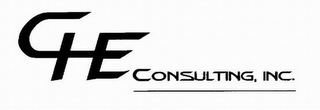 mark for CHE CONSULTING, INC., trademark #77383561