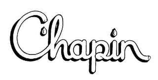 mark for CHAPIN, trademark #77387643
