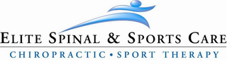 mark for ELITE SPINAL & SPORTS CARE - CHIROPRACTIC - SPORT THERAPY, trademark #77388145