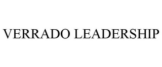 mark for VERRADO LEADERSHIP, trademark #77390297