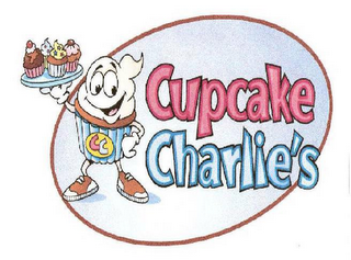 mark for CUPCAKE CHARLIE'S CC, trademark #77395827
