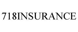 mark for 718INSURANCE, trademark #77396010