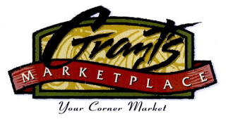 mark for GRANT'S MARKETPLACE YOUR CORNER MARKET, trademark #77396973