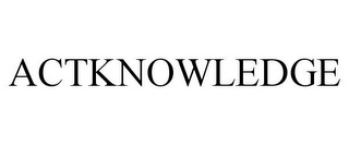 mark for ACTKNOWLEDGE, trademark #77397501