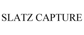 mark for SLATZ CAPTURE, trademark #77399487