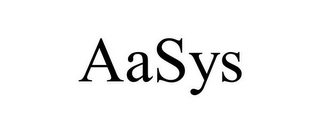 mark for AASYS, trademark #77400001
