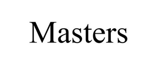 mark for MASTERS, trademark #77400037