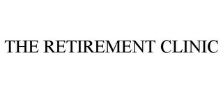mark for THE RETIREMENT CLINIC, trademark #77401219