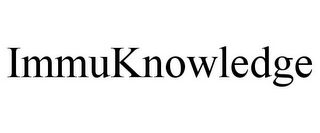mark for IMMUKNOWLEDGE, trademark #77401225