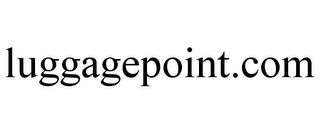 mark for LUGGAGEPOINT.COM, trademark #77402097