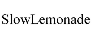 mark for SLOWLEMONADE, trademark #77402602