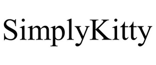 mark for SIMPLYKITTY, trademark #77403830