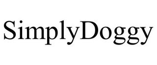 mark for SIMPLYDOGGY, trademark #77404432