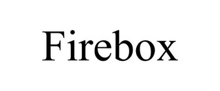 mark for FIREBOX, trademark #77405744