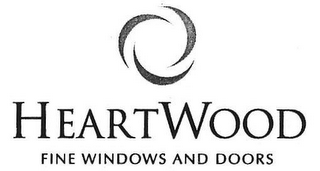 mark for HEARTWOOD FINE WINDOWS AND DOORS, trademark #77407762
