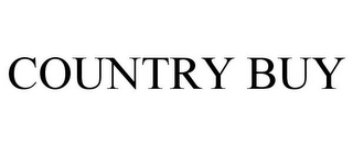 mark for COUNTRY BUY, trademark #77408537
