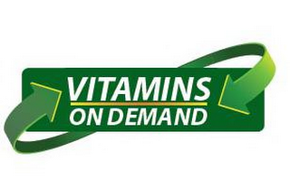 mark for VITAMINS ON DEMAND, trademark #77409398