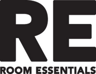 mark for RE ROOM ESSENTIALS, trademark #77410198