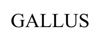 mark for GALLUS, trademark #77413820